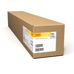 Immagine di KODAK Premium Photo Paper, Satin / 10 mil / Solvent / 36 in x 100 ft