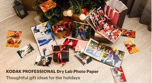 Get Ready for the Holidays Now with Kodak Dry Lab Photo Paper!